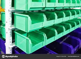 100 Modern Containers Plastic Warehouse Piece Small Storage
