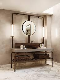 10 lighting design ideas to embellish your industrial bathroom