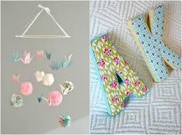 lettre decorative pour chambre bébé création tissu facile 30 idées d accessoires ou décorations pour