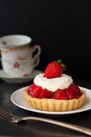 Individual Fresh Strawberry Pies individual sized mini pies with strawberries lightly sweetened with a