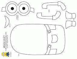 Amazing Of Great Dave The Minion Is Happy Coloring Page A 2755