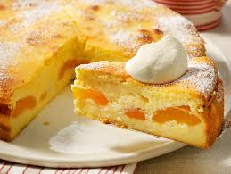 käsekuchen ohne boden mit aprikosen so geht s lecker