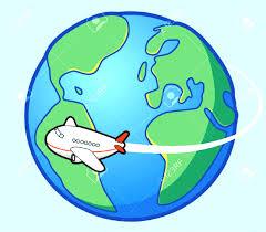 Flight Clipart World Travel 5