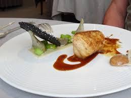 cuisine de la lotte lotte de bretagne rôtie au beurre salé picture of hotel restaurant