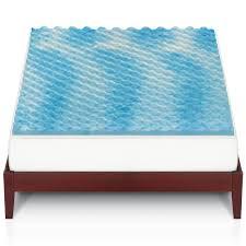 big one gel memory foam mattress topper