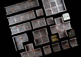 3d Printed Dungeon Tiles by Awesome 3d Terrain For Space Hulk U0026 Making Your Own