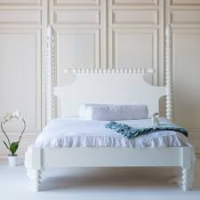 gwendoline spindle bed with low footboard by the beautiful bed company