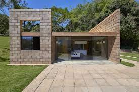 104 Eco Home Studio Minimalist Built From Mining Waste