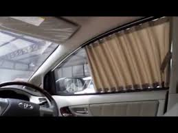 Junction Produce Curtains Gs300 by How To Install Car Curtain By Napp Youtube
