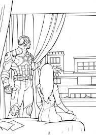 Civil War Coloring Pages Kids N Fun 16 Of Captain America