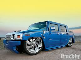 100 H2 Truck Hummer SUT Slam Specialties Airbags In Magazine