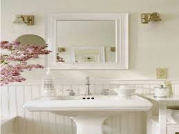 Shabby Chic White Bathroom Vanity by Pink Shabby Chic Bathroom Contemporary Excellent Rectangular