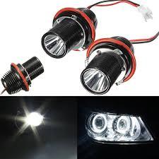 2pcs 10w led marker eye halo ring light bulb for bmw e39 e53