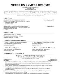 Pediatric Nurse Resume Sample For Graduate New Grad Registered