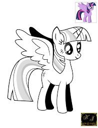 Twilight Sparkle Alicorn Malvorlagen Hard Princess Coloring Pages