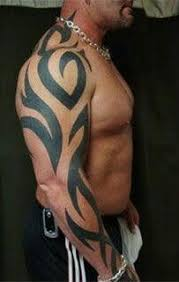 Tribal Art Tattoos Are Very Popular And They Done Throughout The Entire World Mainly Wore By Men
