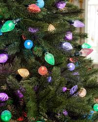 Pre Lit Christmas Trees On Sale by Lumenplay Color Changing C9 Christmas Lights Balsam Hill