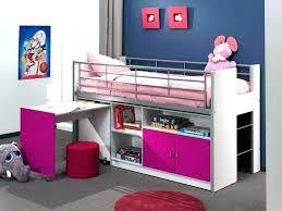 hauteur bureau enfant lit en hauteur pour enfant mezzanine fille avec bureau