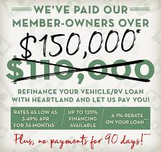 1% Rebate | Heartland Credit Union Auto Loans Cedar Point Fcu Lexington Park Md Fixed Rate Equity Fort Knox Federal Credit 1st Community Union Associated Of Texas Vehicles For Sale Bronco Newsroom Dover Consumer Upper Cumberland 1991 Chevy Xcab Auto Loan Appraisal Dort Flint Home First Abilene Ussco