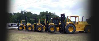 100 Mastercraft Truck Equipment Custom Built Rough Terrain Forklifts Tifton Georgia Master