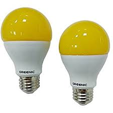 tcp 5w equivalent led yellow bug light bulbs non dimmable