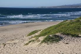Surf Beach At Vandenberg AFB