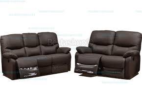 ensemble canapé pas cher ensemble canapé cuir 3 2 relax electirique pas cher coloris noir paosa