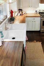 Koehler Home Kitchen Decoration by Great Finishing Tips For Faux Diy Reclaimed Wood Counters The
