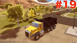 100 Dump Truck Video For Kids Bring Sand To Golf Course With Construction Gameplay