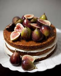 One Of My Favorites EVER Rustic Fig Layer Cake