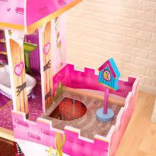 DIY Wooden Doll House Miniature Kit With LEDFurniture House Room