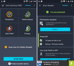 Android Security App Reviews AVG Antivirus Free and Avast Mobile Security & Antivirus
