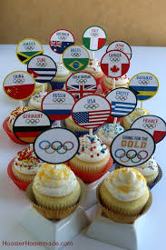 OLYMPIC CUPCAKE TOPPERS Celebrate The Olympic Games With These FREE PRINTABLE