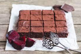rote bete brownies ohne weißen zucker fitter freitag