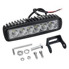 100 Led Lights For Trucks Headlights 12v 18w 6led Waterproof Led Headlights Flood Work Light Motorcycle
