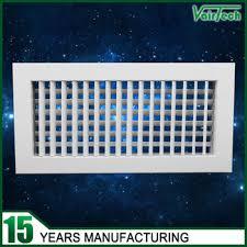 Adjustable Floor Register Deflector by High Quality Hvac Ceiling Register Deflector Double Deflection