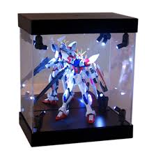 MB Display Box Acrylic Case LED Light House For Gundam 1 144 Model Action Figure