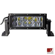LED WORK LIGHT BAR 4X4 OFF-ROAD ATV TRUCK QUAD FLOOD LAMP 8