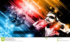 Music Club Background For Disco Dance Flyers Illustration 35981593