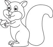 Squirrel Clipart Size 72 Kb