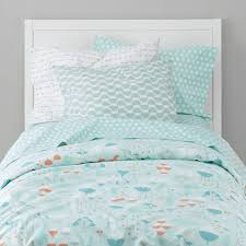 Little Mermaid Crib Bedding by Well Nested Forest Kids Bedding The Land Of Nod