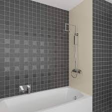 langlebige verkleidung im badezimmer duschplatte duschwand