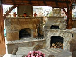 Patio Ideas Patio Brick Pizza Oven Backyard Fireplace Pizza Oven