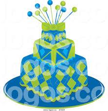 blue birthday cake clipart royalty free vector clipart dLkKfu clipart