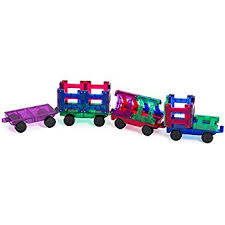 Magna Tiles Amazon Uk by Playmags 20 Piece Train Set Now With Stronger Magnets Sturdy