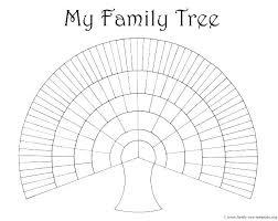 Thinking Map Templates Tree Template Grade World Printable