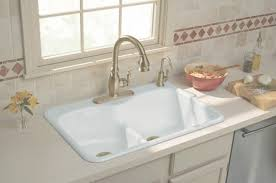 Drop In Farmhouse Sink White by Drop In Farmhouse Sink Tags Amazing Top Mount Kitchen Sinks