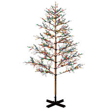 8ft Christmas Tree Pre Lit by Costco Artificial Christmas Trees Christmas Lights Decoration