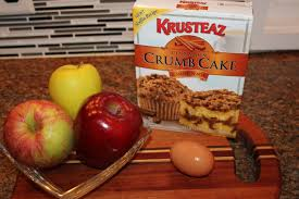 Krusteaz Pumpkin Pancake Mix Ingredients by Moist And Delicious Crumb Cake From A Box Mix Absolutely Kel U0027s