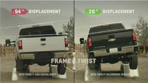 Chevy Trolls Ford With Frame-Flex Video, Howie Long's Zingers 2019 Chevrolet Silverado Gets 27liter Turbo Fourcylinder Engine 2018 Colorado Vs Ford F150 Near Merrville In Chevy Truck Legends Owner Membership Vs News Of New Car Release And Used Suv Dealership James Wood Auto Group Kocourek In Wsau Serving Stevens Point Portland For Sale Mazda Toyota Best Comparison Ray Price Pickup Test Ram 1500 From A Guy To Forum Community 2015 Trolls With Frameflex Video Howie Longs Zingers